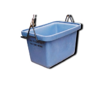 250 litre Level Fill Crane Lift Tub